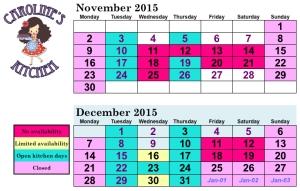 CK calendar
